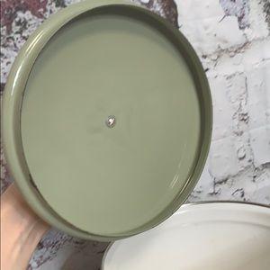 Vintage Kitchen - Vintage floral pot Cera-met